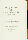 Books:Travels & Voyages, [Genesis Publications]. Lieutenant Captain James Cook. TheJournal of H.M.S. Endeavour 1768- 1771. [Guildford:] ...