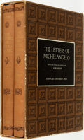Books:Art & Architecture, [Michelangelo]. E. H. Ramsden, editor. The Letters of Michelangelo, Vols. I & II. [Stanford:] Stanford U... (Total: 2 Items)