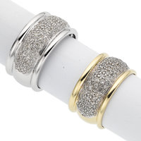 Lot of Diamond, White and Yellow Gold Rings