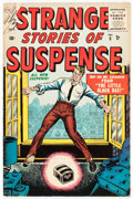Golden Age (1938-1955):Science Fiction, Strange Stories of Suspense #5 (#1) (Atlas, 1955) Condition:FN/VF....