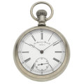 Timepieces:Pocket (pre 1900) , Non-Magnetic Watch Co. (Swiss) 18 Jewel Open Face Pocket Watch. ...