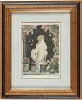 "Art:Illustration Art - Pin-up and Glamour, ""Diamond Ted"" Lewis: A Signed Icart Print Owned by Ted.... (Total:3 Items)"