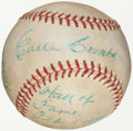 Baseball Collectibles:Balls, 1970 Earle Combs Single Signed Baseball with Inscriptions. ...