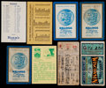 Football Collectibles:Tickets, 1920s-70s Wisconsin Badgers Tickets Stubs and Packers Schedules Lot of 8....