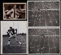 Football Collectibles:Photos, 1950s-70s Green Bay Packers Original Photographs Lot of 12 - Including Images from Stadium Dedication Game....