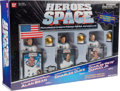 "Explorers:Space Exploration, ""Heroes of Space"" Set of Three Action Figures in Original DisplayBox...."