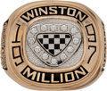 Miscellaneous Collectibles:General, 1997 Winston Million Championship Ring Presented to Jeff GordonCrew Member....