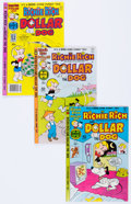 Bronze Age (1970-1979):Cartoon Character, Richie Rich and Dollar the Dog File Copies Group of 50 (Harvey,1977-82) Condition: Average NM-.... (Total: 50 Comic Books)