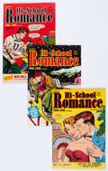Golden Age (1938-1955):Romance, Hi-School Romance File Copies Group of 54 (Harvey, 1950-58)Condition: Average VF-.... (Total: 54 Comic Books)