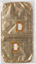 Explorers:Space Exploration, Space Shuttle Flown Gold Thermal Blanket. ...