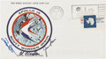Explorers:Space Exploration, Apollo 15 Crew-Signed Insurance Cover Originally from the PersonalCollection of Mission Lunar Module Pilot Jim Irwin, with LO...