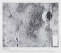 Autographs:Celebrities, Edgar Mitchell Signed Apollo 14 Large Landing Site Map. ...
