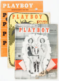 Magazines:Miscellaneous, Playboy 1954 Complete Year Group (HMH Publishing, 1954) Condition:Average GD+.... (Total: 12 )