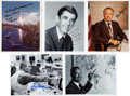 Autographs:Celebrities, NASA and Mission Control Collection of Eleven Signed Photos. ...