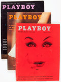 Magazines:Miscellaneous, Playboy 1959 Complete Year Group in Binder (HMH Publishing,1959).Condition: Average VG+.... (Total: 12 )