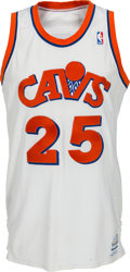 Basketball Collectibles:Uniforms, 1986-87 Mark Price Game Worn Cleveland Cavaliers Jersey. ...
