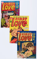 Golden Age (1938-1955):Romance, First Love Illustrated File Copy Group (Harvey, 1951-63) Condition:Average VF-.... (Total: 63 Comic Books)