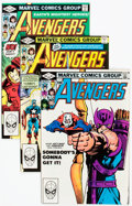 Modern Age (1980-Present):Superhero, The Avengers #217-289 Near-Complete Run Box Lot (Marvel, 1982-88)Condition: Average NM-.... (Total: 2 Box Lots)