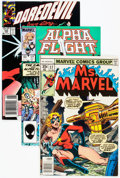 Modern Age (1980-Present):Miscellaneous, Marvel Modern Age Comics Box Lot (Marvel, 1980s-90s) Condition: Average VG/FN.... (Total: 3 Box Lots)