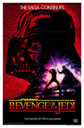 "Movie Posters:Science Fiction, Revenge of the Jedi (20th Century Fox, 1982). One Sheet (27"" X 41"")Flat Folded Dated Advance Style.. ..."