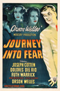 "Movie Posters:Film Noir, Journey into Fear (RKO, 1942). One Sheet (27"" X 41"").. ..."