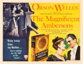 "Movie Posters:Drama, The Magnificent Ambersons (RKO, 1942). Half Sheet (22"" X 28"") StyleA.. ..."