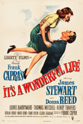 "Movie Posters:Fantasy, It's a Wonderful Life (RKO, 1946). One Sheet (27"" X 41"").. ..."