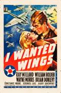 "Movie Posters:War, I Wanted Wings (Paramount, 1941). One Sheet (27"" X 41"") Style A....."
