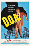 "Movie Posters:Film Noir, D.O.A. (United Artists, 1950). One Sheet (27"" X 41"").. ..."