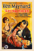 """Movie Posters:Western, The Royal Rider (First National, 1929). One Sheet (27.5"""" X 41"""")Style B.. ..."""