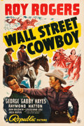 "Movie Posters:Western, Wall Street Cowboy (Republic, 1939). One Sheet (27"" X 40.5"").. ..."