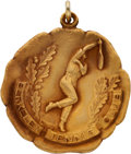 Miscellaneous Collectibles:General, 1923 Helen Wills Berkeley Tennis Women's Club Championship Medal....