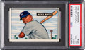Baseball Cards:Singles (1950-1959), 1951 Bowman Mickey Mantle #253 PSA NM-MT 8 (OC)....