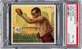 "Boxing Cards:General, 1910 T218 Mecca ""Champion Athlete"" Joe Gans PSA NM-MT 8 - Pop One, None Higher...."
