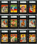 Baseball Cards:Lots, 1933 Sport Kings and 1934-36 Diamond Stars Collection (116). ...