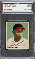 Baseball Cards:Singles (1940-1949), 1949 Bowman Satchell Paige #224 PSA NM 7....