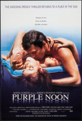 """Movie Posters:Foreign, Purple Noon (Miramax, R-1996). One Sheet (27"""" X 40"""") SS. Foreign.. ..."""