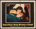 "Movie Posters:Drama, Rebel without a Cause (Warner Brothers, 1955). Lobby Card (11"" X 14""). Drama.. ..."