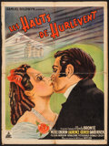 """Movie Posters:Romance, Wuthering Heights (Pantheon, 1939). French Affiche (23.25"""" X 31.25""""). Romance.. ..."""