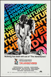 """The Adventurers & Other Lot (Paramount, 1970). One Sheets (2) (27"""" X 41""""). Adventure. ... (Total: 2 It..."""