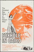 "Movie Posters:War, Foxhole in Cairo & Other Lot (Paramount, 1961). One Sheets (2)(27"" X 41""). War.. ... (Total: 2 Items)"