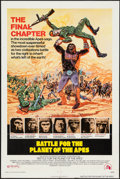 """Movie Posters:Science Fiction, Battle for the Planet of the Apes (20th Century Fox, 1973). OneSheet (27"""" X 41""""). Science Fiction.. ..."""
