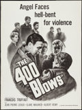 """Movie Posters:Foreign, The 400 Blows (Zenith International, 1959). Poster (30"""" X 40""""). Foreign.. ..."""