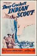 "Movie Posters:Western, Davy Crockett, Indian Scout & Other Lot (Phoenix Films, R-1955). One Sheets (2) (27"" X 41""). Western.. ... (Total: 2 Items)"