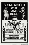 """Movie Posters:James Bond, Spend a Night with James Bond (United Artists, R-1972). One Sheet(27"""" X 41""""). James Bond.. ..."""