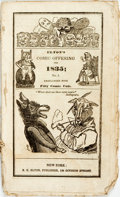 Books:Americana & American History, [Comic Almanacs]. Elton's Comic Offering for 1835; No. 1.New York: R.H. Elton, [1835]. ...