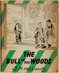 Books:Americana & American History, J. R. Williams. The Bull of the Woods. New York: CharlesScribner's Sons, 1944....