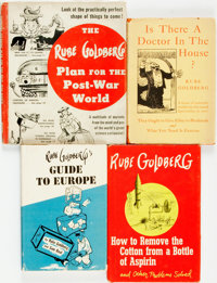 Rube Goldberg. Group of Four Titles. Various publishers and dates
