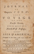 Books:Travels & Voyages, Captain James Cook. John Ledyard. A Journal of Captain Cook'sLast Voyage to the Pacific Ocean, and in Quest of a North-...