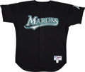Baseball Collectibles:Uniforms, 2004 Dontrelle Willis Game Worn Florida Marlins Jersey Gifted to Wil Cordero. ...